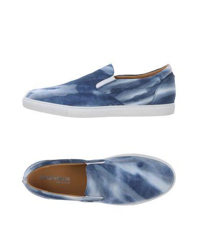 DSQUARED2 | Синий Мужские синие низкие кеды и кроссовки DSQUARED2 габардин | Clouty