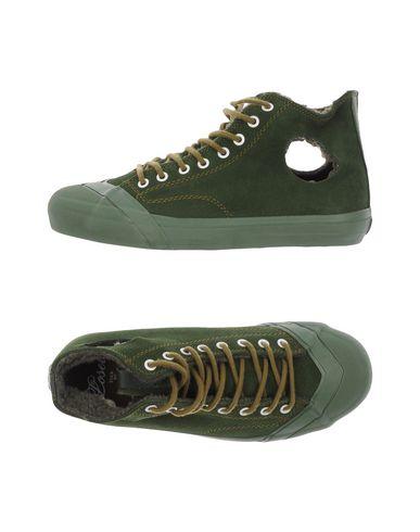 Losers   Изумрудно-зеленый Мужские высокие кеды и кроссовки LOSERS кожа   Clouty