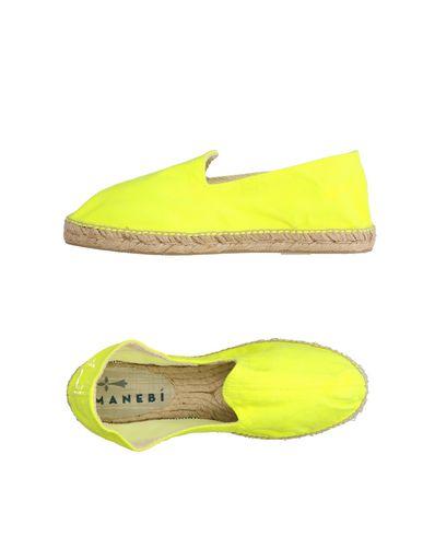 Manebi | Желтый Мужские желтые эспадрильи MANEBI парусина | Clouty