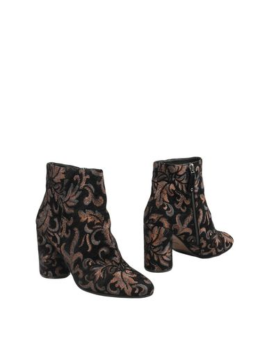 Elvio Zanon | Черный Женские черные полусапоги и высокие ботинки ELVIO ZANON плотная ткань | Clouty
