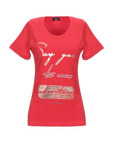 Liu•Jo | Красный Женская красная футболка LIU •JO джерси | Clouty