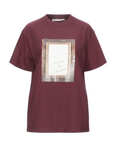 Golden Goose Deluxe Brand | Красно-коричневый Женская футболка GOLDEN GOOSE DELUXE BRAND джерси | Clouty