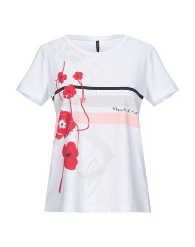 Manila Grace | Белый Женская белая футболка MANILA GRACE джерси | Clouty