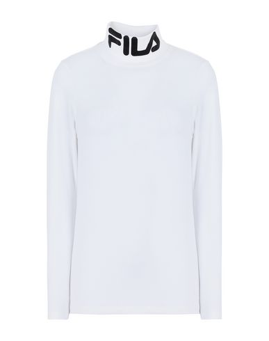 Fila Heritage | Белый Женская белая футболка FILA HERITAGE джерси | Clouty