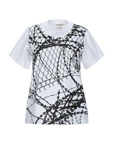 Junya Watanabe   Белый Женская белая футболка JUNYA WATANABE джерси   Clouty
