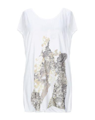 JUST CAVALLI   Белый Женская белая футболка JUST CAVALLI джерси   Clouty