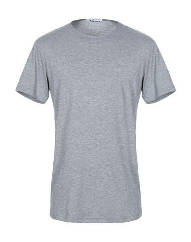 Grey Daniele Alessandrini | Серый Мужская серая футболка GREY DANIELE ALESSANDRINI джерси | Clouty