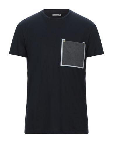 Pmds Premium Mood Denim Superior | Темно-синий; Белый Мужская темно-синяя футболка PMDS PREMIUM MOOD DENIM SUPERIOR джерси | Clouty