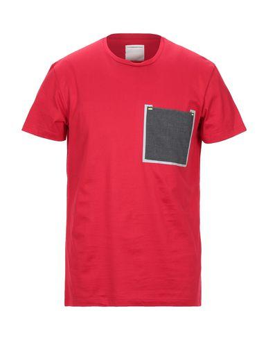 Pmds Premium Mood Denim Superior   Красный Мужская красная футболка PMDS PREMIUM MOOD DENIM SUPERIOR джерси   Clouty