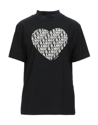Empathie | Черный Женская черная футболка EMPATHIE джерси | Clouty