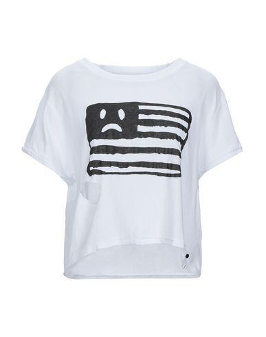 One X OneTeaspoon | Белый Женская белая футболка ONE x ONETEASPOON ручная работа | Clouty