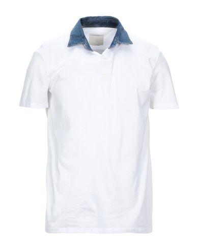 Pmds Premium Mood Denim Superior | Белый Мужская белая футболка PMDS PREMIUM MOOD DENIM SUPERIOR деним | Clouty