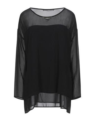 Guess   Черный Женская черная футболка GUESS джерси   Clouty