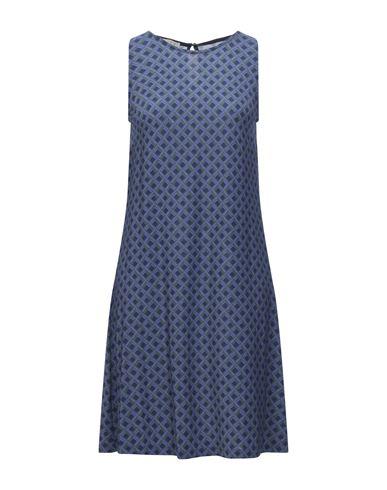 Siyu | Фиолетовый; Темно-коричневый Фиолетовое короткое платье SIYU джерси | Clouty