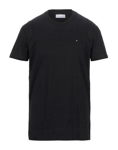 Pmds Premium Mood Denim Superior   Черный; Белый Мужская черная футболка PMDS PREMIUM MOOD DENIM SUPERIOR джерси   Clouty
