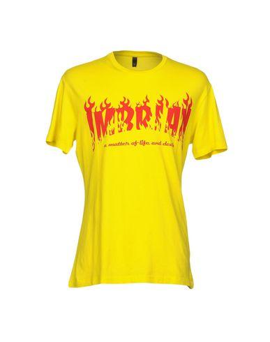 I'M BRIAN | Желтый Мужская желтая футболка I'M BRIAN джерси | Clouty