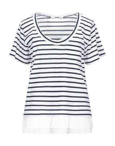 Sacai Luck   Белый Женская белая футболка SACAI LUCK джерси   Clouty