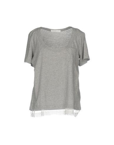 Sacai Luck | Серый Женская серая футболка SACAI LUCK джерси | Clouty