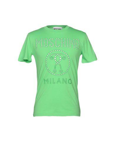 MOSCHINO | Зеленый Мужская зеленая футболка MOSCHINO джерси | Clouty