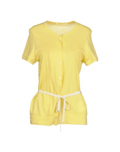 Sacai Luck | Желтый Женская желтая футболка SACAI LUCK твил | Clouty