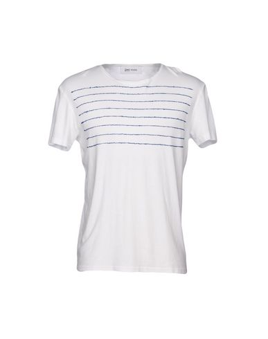 Jimi Roos | Белый Мужская белая футболка JIMI ROOS Джерси | Clouty