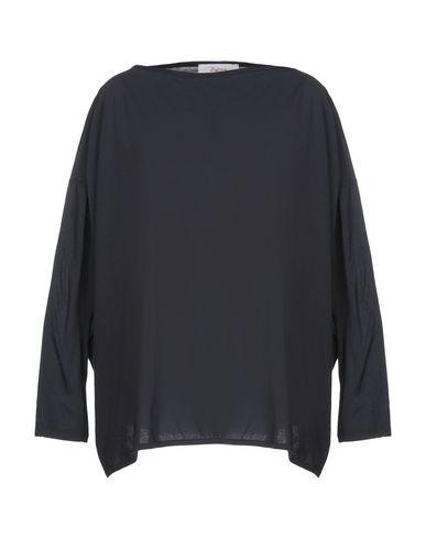 Jucca | Темно-синий; Серый; Красно-коричневый; Стальной серый; Черный Женская темно-синяя футболка JUCCA джерси | Clouty