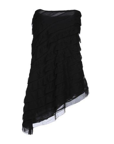 Ralph Lauren | Черный Черное бюстье RALPH LAUREN BLACK LABEL креп | Clouty