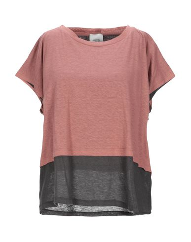 Alysi | Пастельно-розовый Женская футболка ALYSI джерси | Clouty