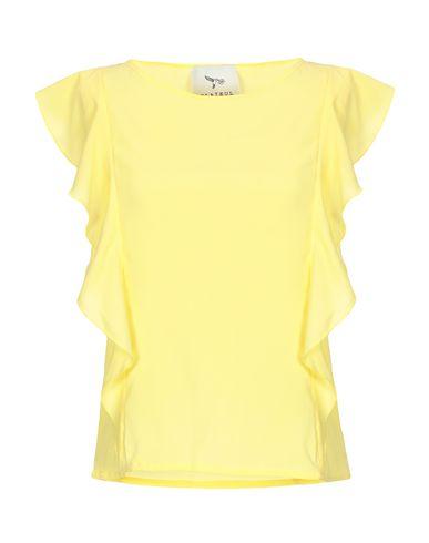 GLAІEUL Paris | Желтый Женская желтая блузка GLAІEUL Paris креп | Clouty