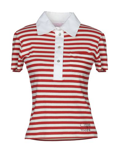 Clips More | Красный Женское красное поло CLIPS MORE джерси | Clouty