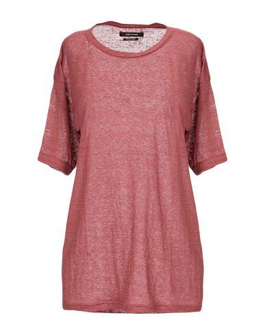 Isabel Marant | Кирпично-красный Женская футболка ISABEL MARANT джерси | Clouty