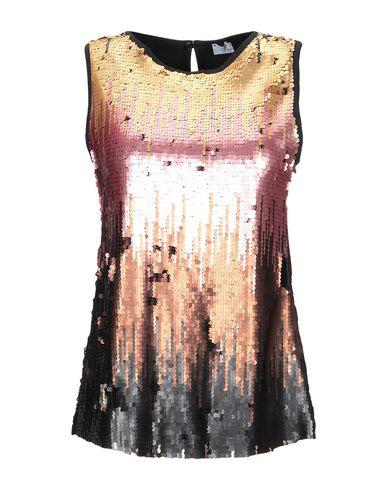Kaos | Женский розовый топ без рукавов KAOS тюль | Clouty