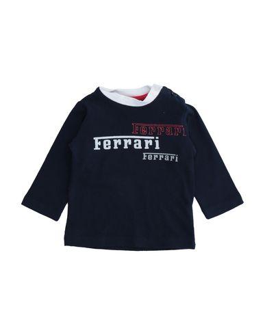 Ferrari | Темно-синий Детская темно-синяя толстовка FERRARI джерси | Clouty