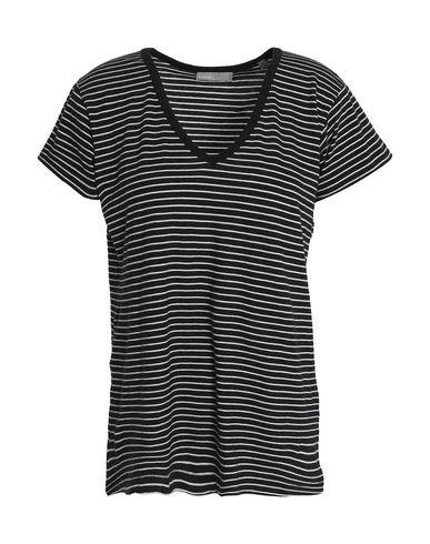 Vince | Черный Женская черная футболка VINCE. джерси | Clouty