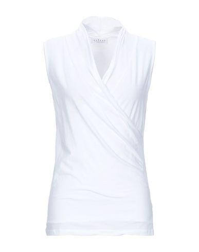 Velvet By Graham & Spencer | Белый Женская белая футболка VELVET by GRAHAM & SPENCER джерси | Clouty