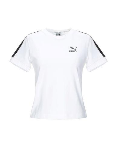 Puma   Белый Женская белая футболка PUMA джерси   Clouty