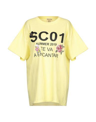 Semicouture | Желтый Женская желтая футболка SEMICOUTURE джерси | Clouty