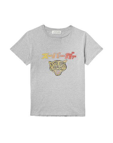 Remi Relief | Светло-серый Мужская светло-серая футболка REMI RELIEF джерси | Clouty
