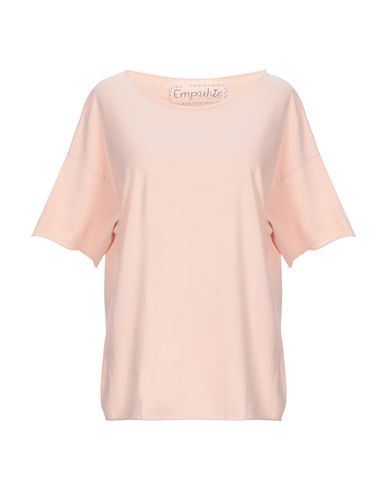 Empathie | Светло-розовый Женская светло-розовая футболка EMPATHIE джерси | Clouty