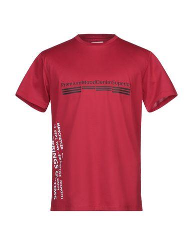 Pmds Premium Mood Denim Superior | Красный Мужская красная футболка PMDS PREMIUM MOOD DENIM SUPERIOR джерси | Clouty