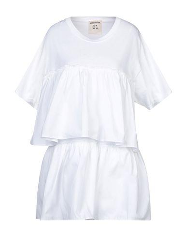 Semicouture | Белый Женская белая футболка SEMICOUTURE плотная ткань | Clouty