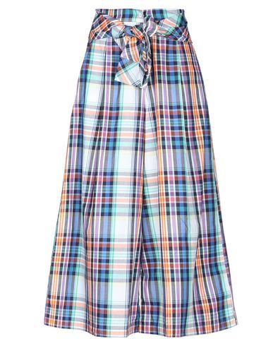 Gaëlle | Белый Женские белые повседневные брюки GAeLLE Paris плотная ткань | Clouty