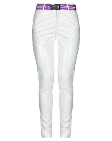 Gaëlle | Белый Женские белые повседневные брюки GAeLLE Paris джерси | Clouty