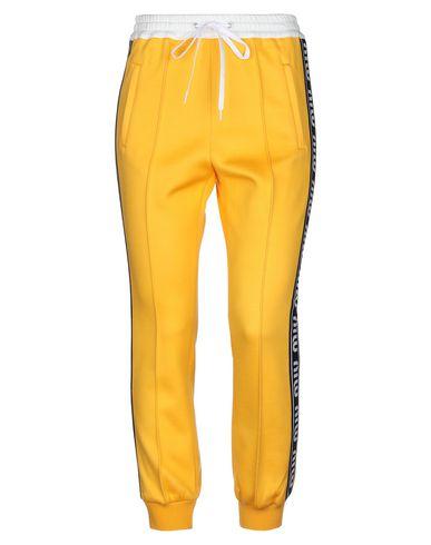 MIU MIU | Желтый; Черный Женские желтые повседневные брюки MIU MIU вязаное изделие | Clouty