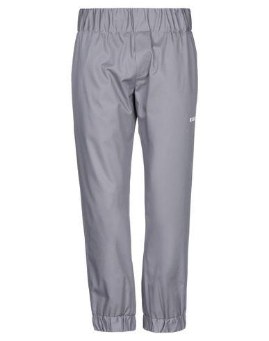 MSGM   Серый; Песочный; Черный Мужские серые повседневные брюки MSGM плотная ткань   Clouty