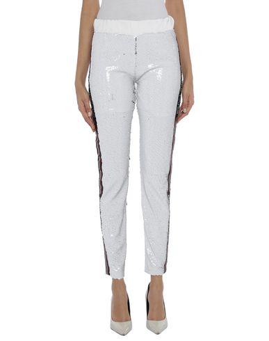 Gaëlle | Белый Женские белые повседневные брюки GAeLLE Paris тюль | Clouty