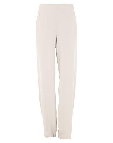 MAX MARA | Бежевый Женские бежевые повседневные брюки MAX MARA креп | Clouty
