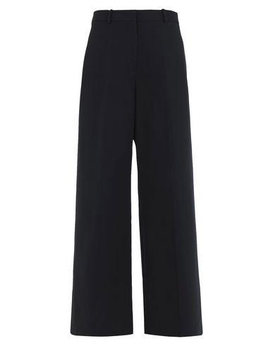 JIL SANDER | Черный Женские черные повседневные брюки JIL SANDER креп | Clouty