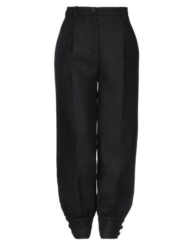 MIU MIU   Черный Женские черные повседневные брюки MIU MIU сукно   Clouty
