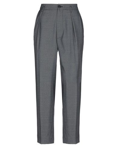 MIU MIU | Серый Женские серые повседневные брюки MIU MIU шерстяной муслин | Clouty